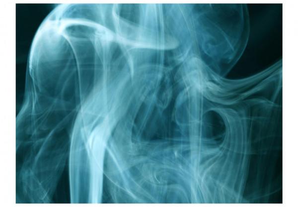 Fototapet - Trail of smoke