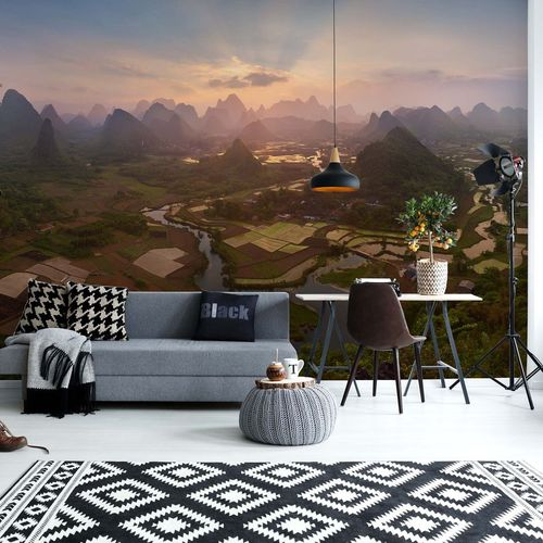 Little Country Photo Wallpaper Mural