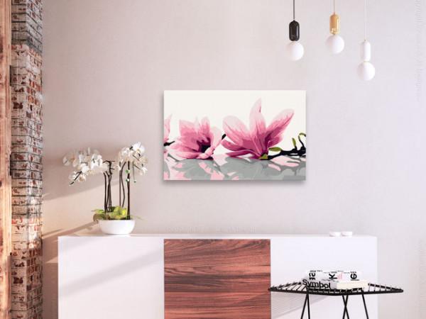 Pictatul pentru recreere - Magnolia (White Background)