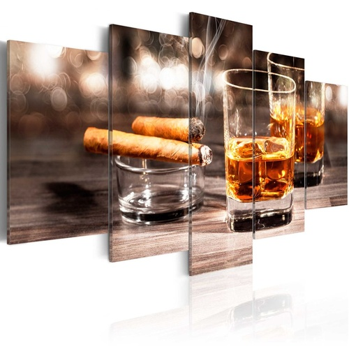 Tablou - Cigar and whiskey