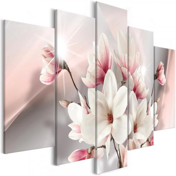 Tablou - Magnolia in Bloom (5 Parts) Wide