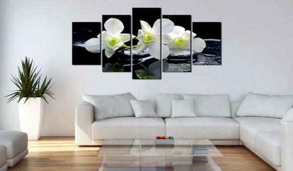 Tablou - Melancholic orchids