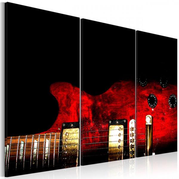 Tablou - Red guitar