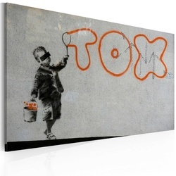 Tablou - Wallpaper graffiti (Banksy)
