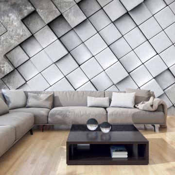 Fototapet - Gray background 3D