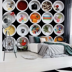 20 Little Things About Me Photo Wallpaper Mural