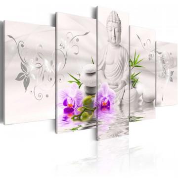 Tablou - White Buddha