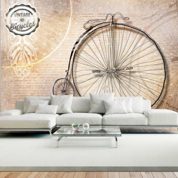 Fototapet - Vintage bicycles - sepia