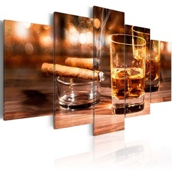 Tablou - Whiskey and cigar