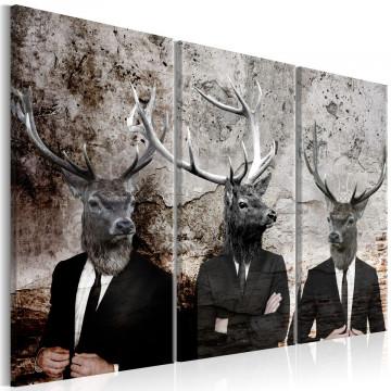 Tablou - Deer in Suits I