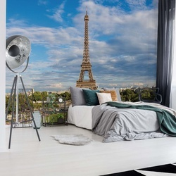 Paris Eiffel Tower Photo Wallpaper Wall Mural