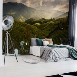 A Tuscan Feel In China Photo Wallpaper Mural