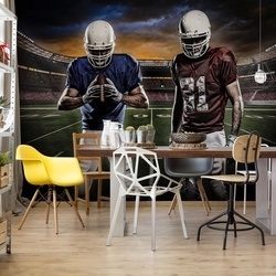 American Football Players Stadium Photo Wallpaper Wall Mural