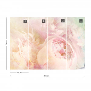 Beautiful Blooms Faded Vintage