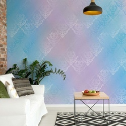 Blue And Pink Abstract Texture Photo Wallpaper Wall Mural