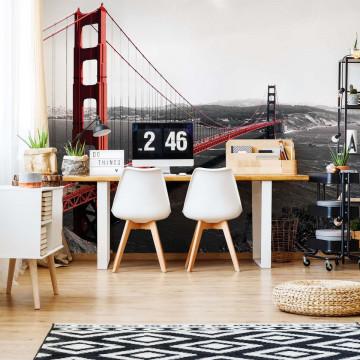 City Golden Gate Bridge Photo Wallpaper Wall Mural