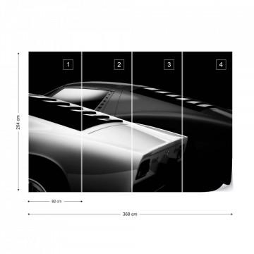 Doua mașini - fototapet