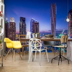 Dubai Marina Photo Wallpaper Mural