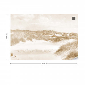 Dune Paradise Faded Vintage in Sepia
