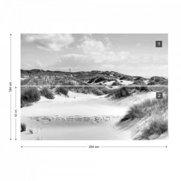 Dune Paradise in Black & White