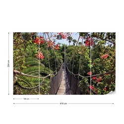 Flowers Forest Nature Photo Wallpaper Wall Mural