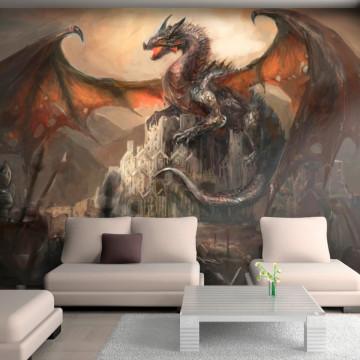 Fototapet autoadeziv - Dragon castle