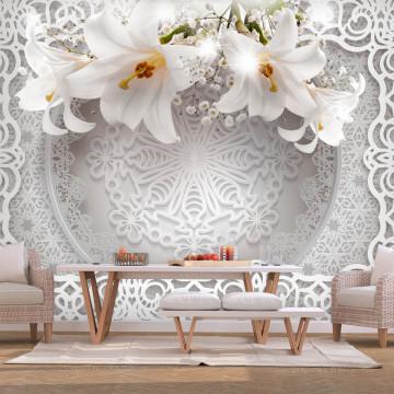 Fototapet autoadeziv - Lilies and Ornaments