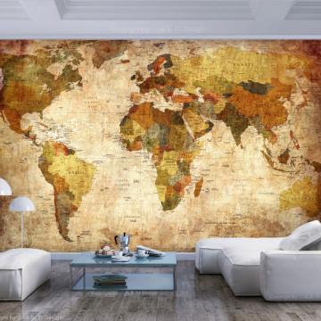 Fototapet autoadeziv - Old World Map