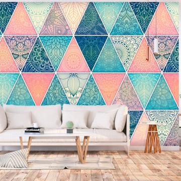 Fototapet autoadeziv - Oriental Triangles