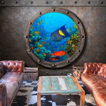 Fototapet autoadeziv - Submarine Window