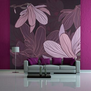 Fototapet - Dreamy flowers