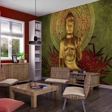 Fototapet - Golden Buddha