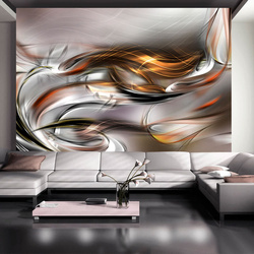 Fototapet - Golden cloud