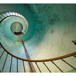 Fototapet - Lighthouse - Stairs