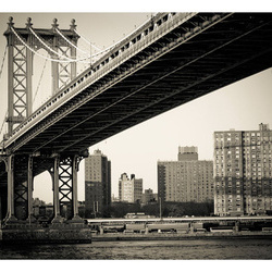 Fototapet - Manhattan Bridge, New York