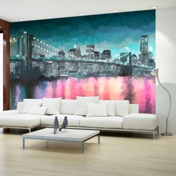 Fototapet - Painted New York