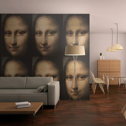 Fototapet - Portrait of Mona Lisa