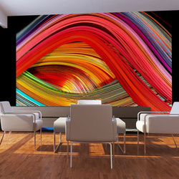 Fototapet - Rainbow wool
