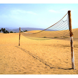 Fototapet - Sand volleyball pitch