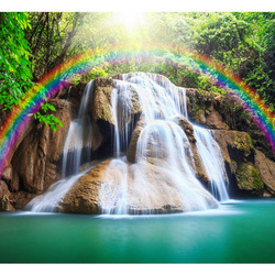 Fototapet - Waterfall of Fulfilled Wishes