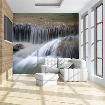 Fototapet - Waterfalls in Kanchanaburi, Thailand