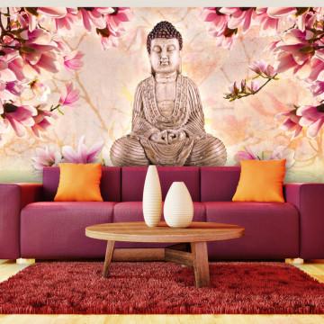 Fototapet XXL - Buddha and magnolia