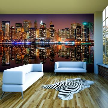 Fototapet XXL - Gold reflections - NYC