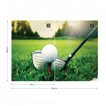 Golf Photo Wallpaper Wall Mural