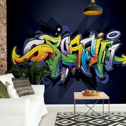 Graffiti Street Art Photo Wallpaper Wall Mural