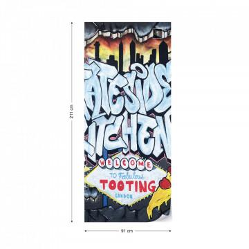 Graffiti Street Art Stateside Kitchen Photo Wallpaper Wall Mural