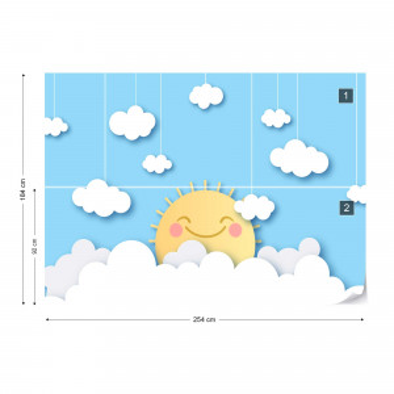 Happy Sun Papercut Series