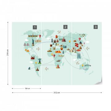Harta Lumii – Obiective Turistice