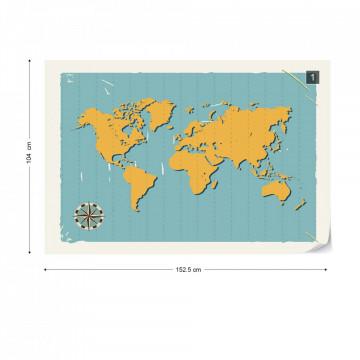 Harta Lumii – Retro
