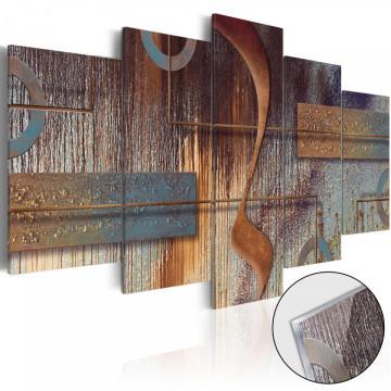 Imagine pe sticlă acrilică - Oriental Composition [Glass]